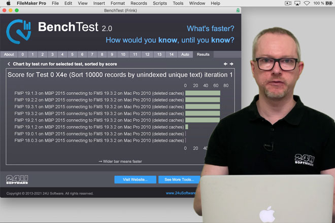 Test Your FileMaker Performance with BenchTest 2.0 - Preview Image